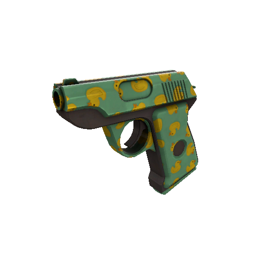 Quack Canvassed Pistol
