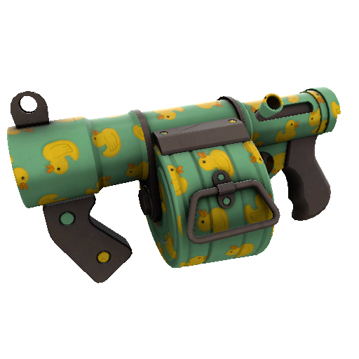 Quack Canvassed Stickybomb Launcher