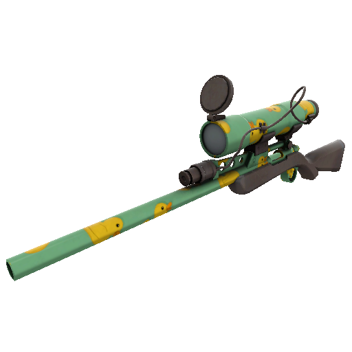 Quack Canvassed Sniper Rifle