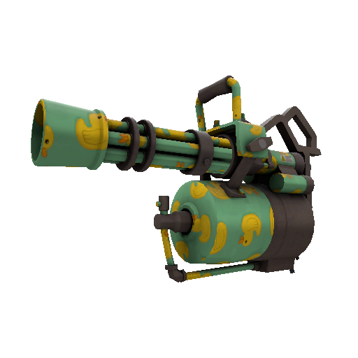 Quack Canvassed Minigun