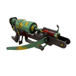 Quack Canvassed Crusader's Crossbow (Battle Scarred)