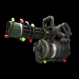 Festivized Bomber Soul Minigun (Battle Scarred)