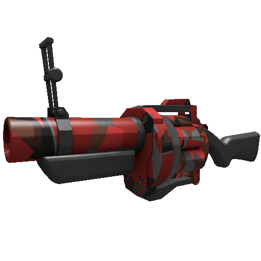 Geometrical Teams Grenade Launcher
