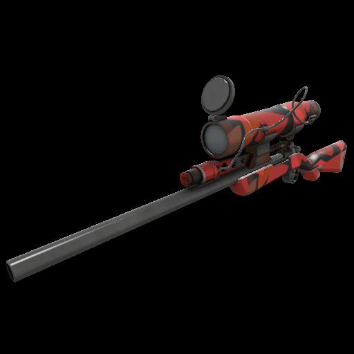 Geometrical Teams Sniper Rifle