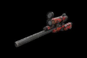 Strange Geometrical Teams Sniper Rifle Well Worn