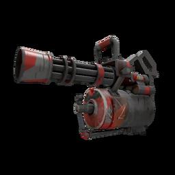 Geometrical Teams Minigun (Battle Scarred)
