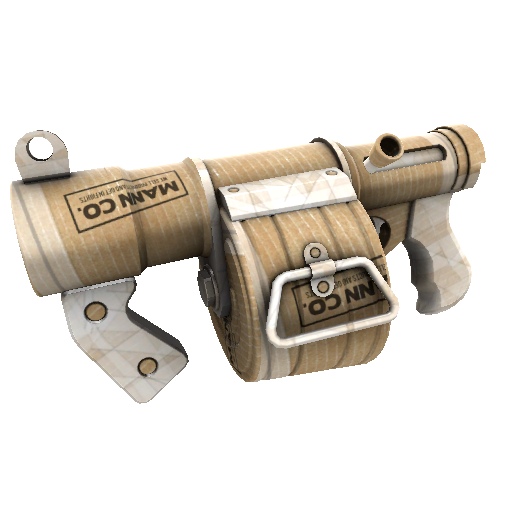 Cardboard Boxed Stickybomb Launcher