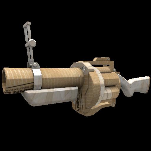 Cardboard Boxed Grenade Launcher