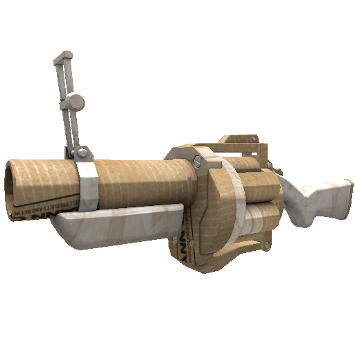 Cardboard Boxed Grenade Launcher