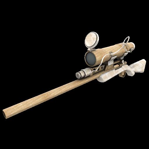 Cardboard Boxed Sniper Rifle