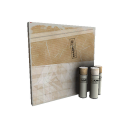 Cardboard Boxed War Paint (Field-Tested)