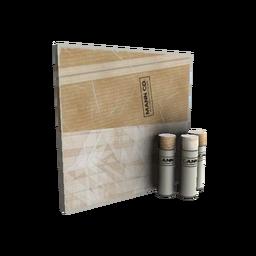 Cardboard Boxed War Paint (Minimal Wear)