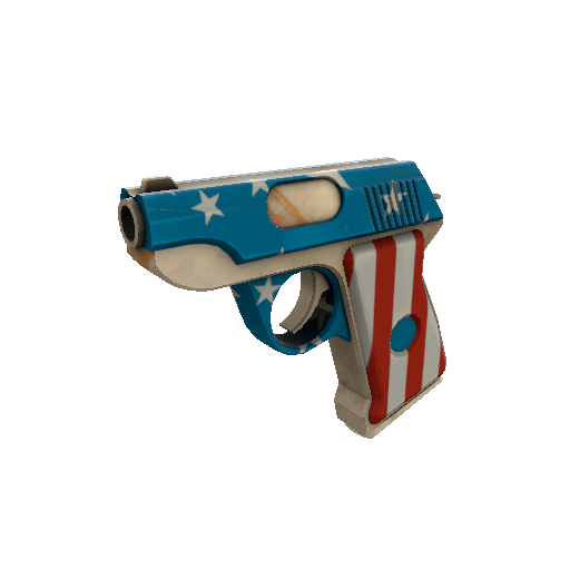 Freedom Wrapped Pistol