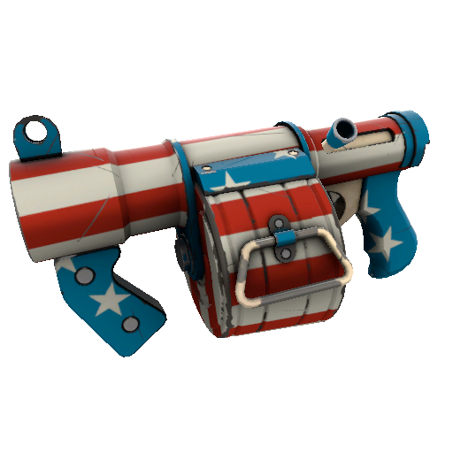 Freedom Wrapped Stickybomb Launcher