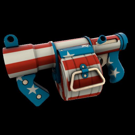 Freedom Wrapped Stickybomb Launcher