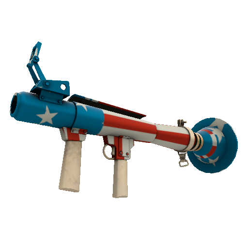 Freedom Wrapped Rocket Launcher