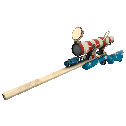 Freedom Wrapped Sniper Rifle