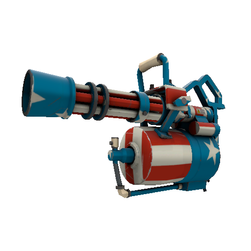 Freedom Wrapped Minigun