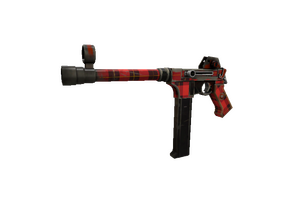 Plaid Potshotter Smg Well Worn