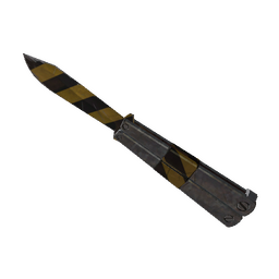 free tf2 item Hazard Warning Knife (Minimal Wear)