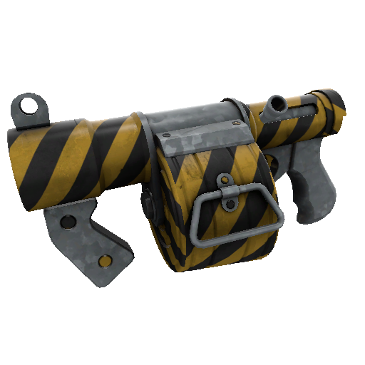 Hazard Warning Stickybomb Launcher