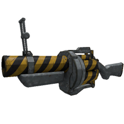 Hazard Warning Grenade Launcher (Minimal Wear)