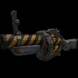 free tf2 item Hazard Warning Grenade Launcher (Battle Scarred)