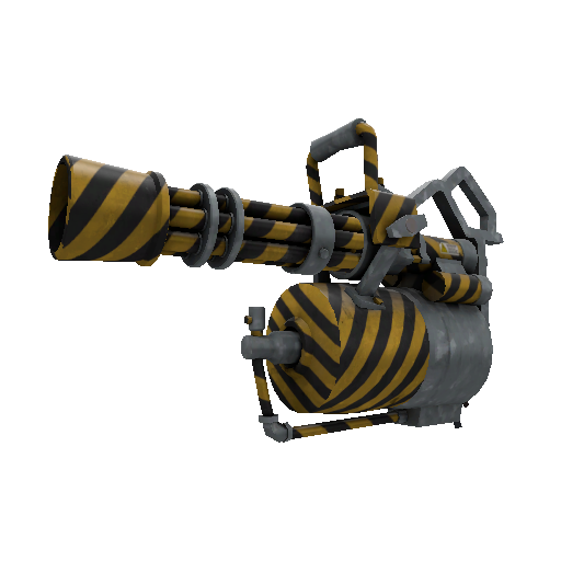 Hazard Warning Minigun