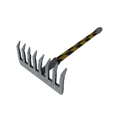 Hazard Warning Back Scratcher
