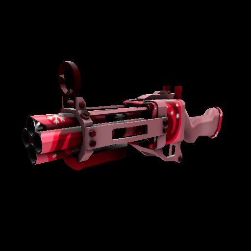 Snowflake Swirled Iron Bomber