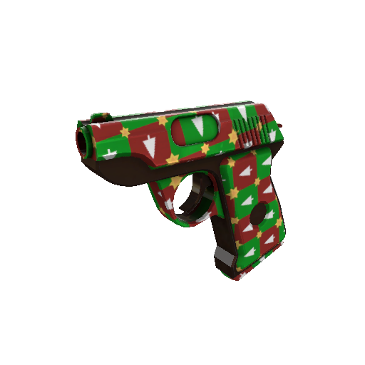 Gifting Manns Wrapping Paper Pistol