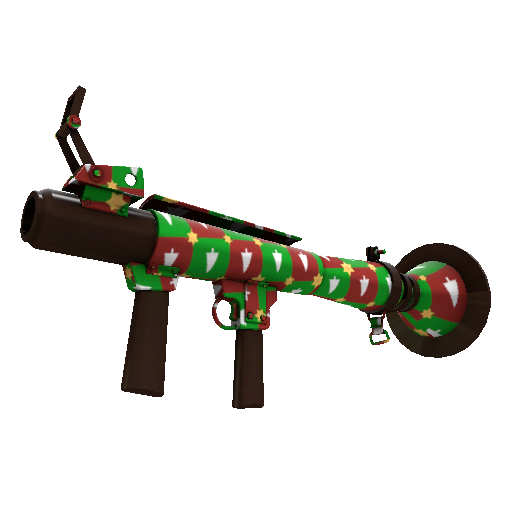 Gifting Manns Wrapping Paper Rocket Launcher