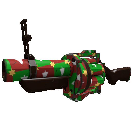 Gifting Manns Wrapping Paper Grenade Launcher