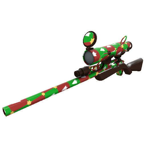 Gifting Manns Wrapping Paper Sniper Rifle