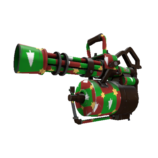 Gifting Manns Wrapping Paper Minigun