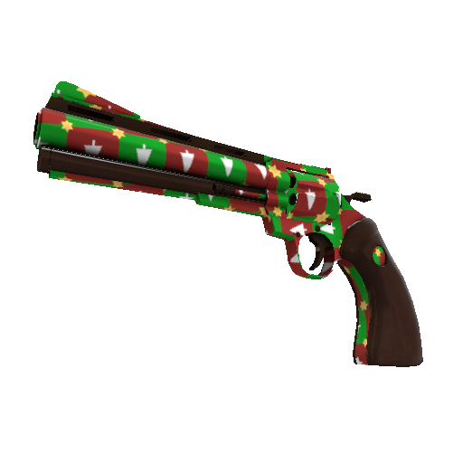 Gifting Manns Wrapping Paper Revolver