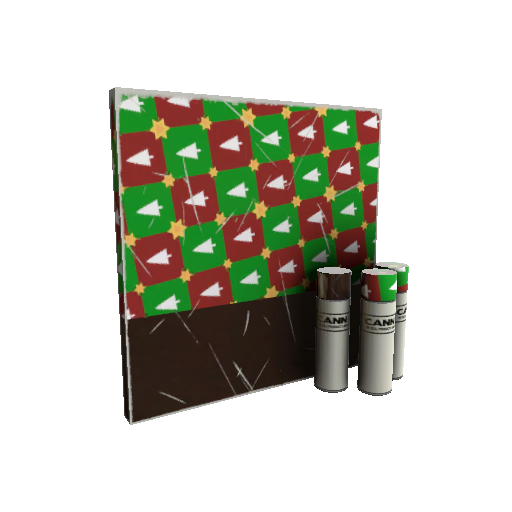 Gifting Mann's Wrapping Paper War Paint (Minimal Wear)