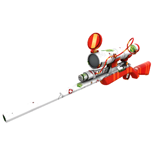 Snow Globalization Sniper Rifle