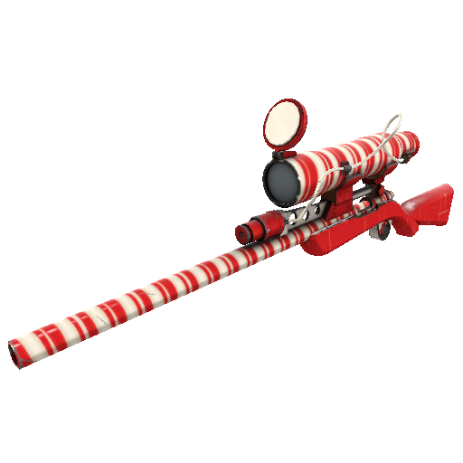 Peppermint Swirl Sniper Rifle