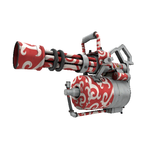 Frost Ornamented Minigun