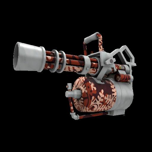 Snow Covered Minigun