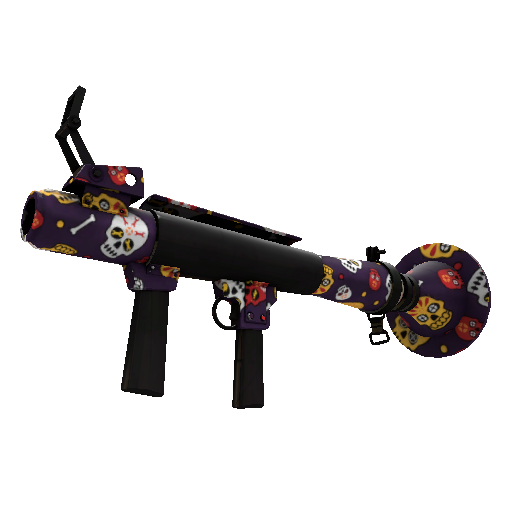 Calavera Canvas Rocket Launcher