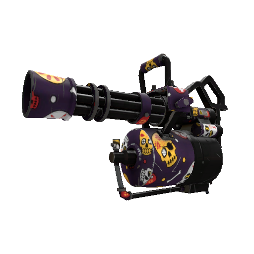 Calavera Canvas Minigun