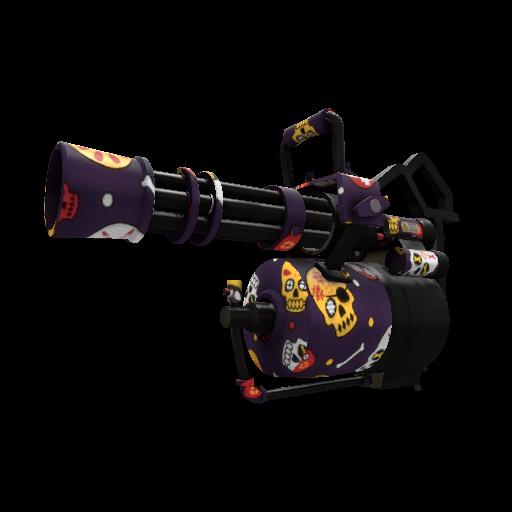 Calavera Canvas Minigun