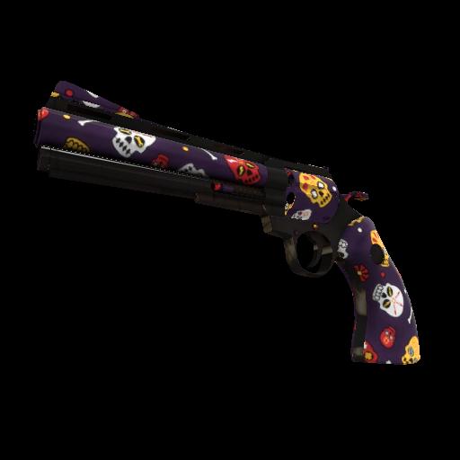 Calavera Canvas Revolver