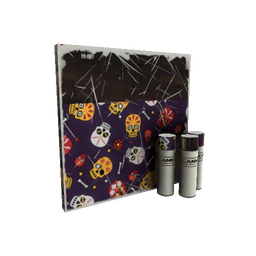 Strange Calavera Canvas War Paint (Field-Tested)
