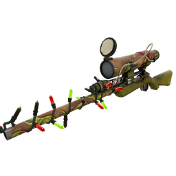 Festivized Tumor Toasted Sniper Rifle (Well-Worn)