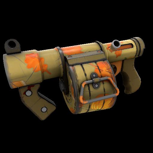 Pumpkin Pied Stickybomb Launcher