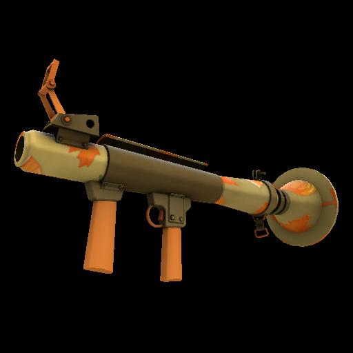 Pumpkin Pied Rocket Launcher