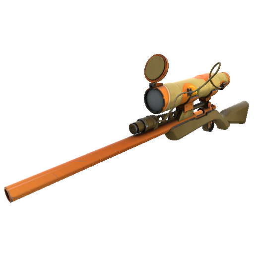 Pumpkin Pied Sniper Rifle